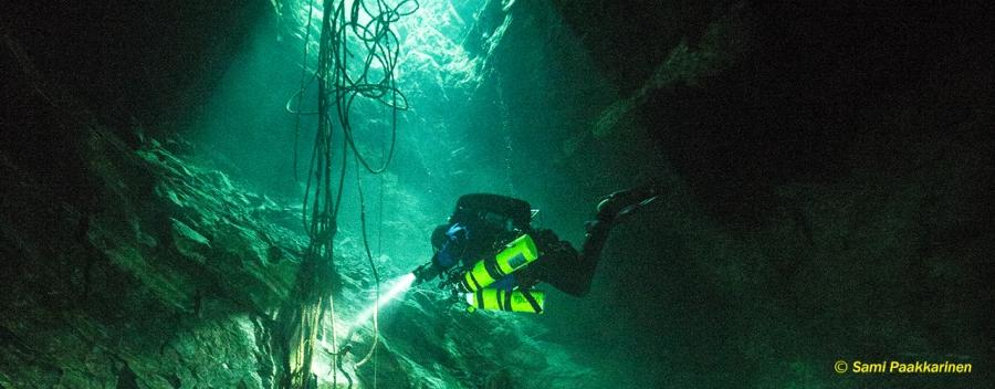 Rebreather Limited Mine Diver