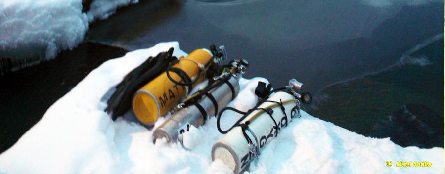 Ice Diver (OC, SCR, CCR)