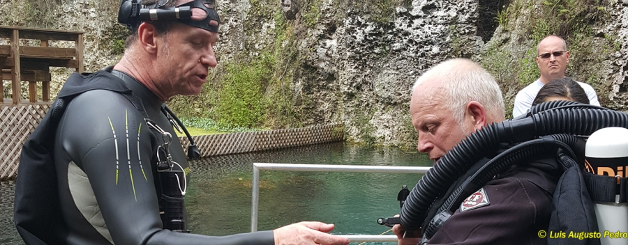 Recreational Semi Closed Circuit Rebreather diver